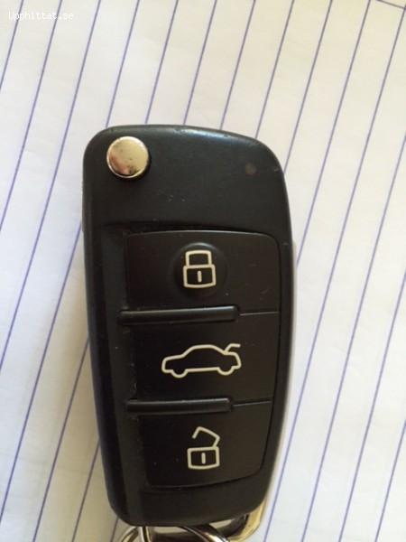 Tappad bilnyckel